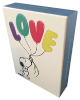 Snoopy Love Balloon Box of 20 Assorted Blank Notecards