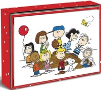 Peanuts Gang Box of 16 Blank Notecards