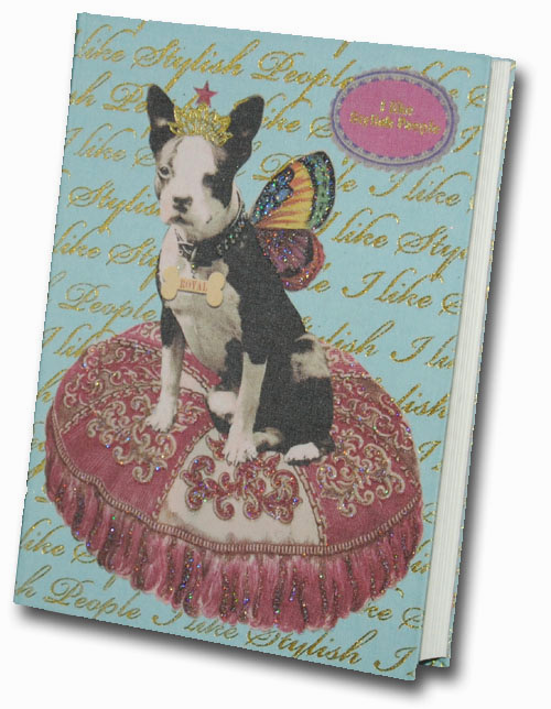 Princess Butterfly Graphique de France Linen Journal