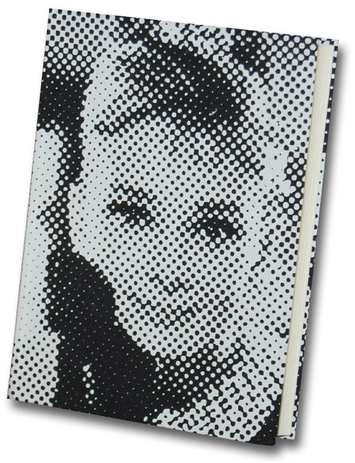 Audrey Hepburn Graphique de France Linen Journal