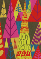 Joy All Around (16 cards/17 envelopes) Hallmark African American Christmas Card