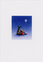 Donkey, Baby Angel, Lamb, Star of Bethlehem Box of 16 Christmas Cards