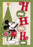Mickey Mouse Ho Ho Ho (12 cards/12 envelopes) - Boxed Christmas Cards