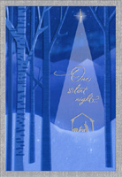 One Silent Night (1 card/1 envelope) Image Arts Christmas Card