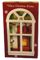 Window Shadow Box (8 cards/8 envelopes) Image Arts Boxed Christmas Cards