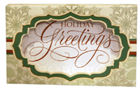 Greeting Shadow Box (8 cards/8 envelopes) Image Arts Boxed Christmas Cards