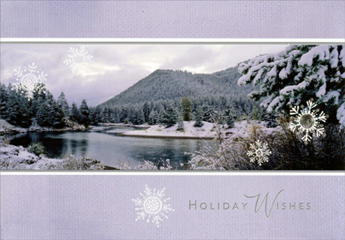 Mountain Christmas Cards.Details About Mountains Image Arts Christmas Card