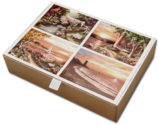 Serenity (16 cards & 16 envelopes) Assorted Alan Giana All Occasion Cards