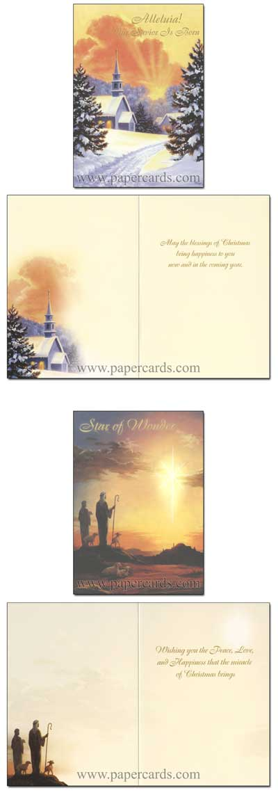 The Christmas Story Keepsake Assorted Boxed Christmas Cards - FRONT: Various  INSIDE: Various