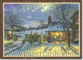 The Warmth of Home (18 cards/18 envelopes) - Boxed Holiday Cards - FRONT: No Text  INSIDE: May the warmth of home fill your holidays with happy times and everlasting memories.