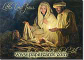 Baby Jesus' Birth (1 card/1 envelope)