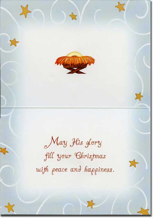 Glory to the newborn king religious christmas card by lpg greetings m4hsunfo