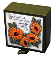 Sunflowers Note Sheets (200 Sheets) Lori Voskuil-Dutter Boxed Loose Leaf Note Sheets