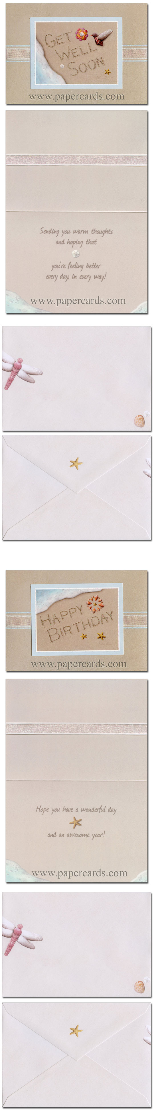 Water's Edge (12 cards & 12 envelopes) All Occasion Alan Giana Boxed Assorted Greeting Cards