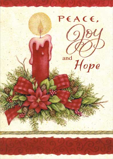 Peace joy hope box of 14 christmas cards by lpg greetings m4hsunfo Images