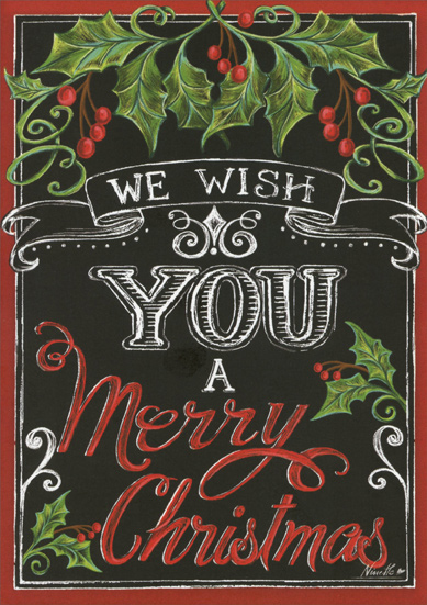 Merry Christmas Wishes Box Of 16 Christmas Cards By Lpg Greetings