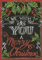 Merry Christmas Wishes (1 card/1 envelope) LPG Christmas Card