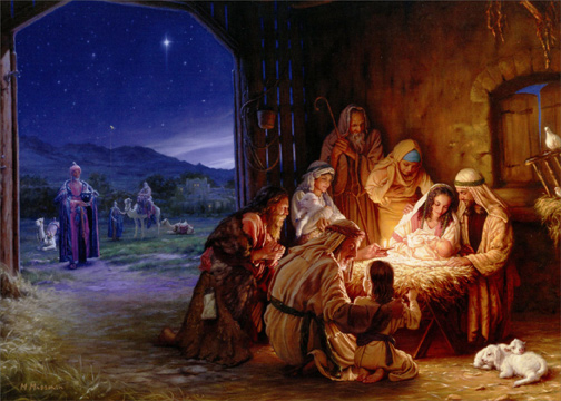 light of the world religious christmas card by lpg greetings - Religious Christmas Cards