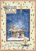One Small Child (18 cards/18 envelopes) LPG Religious Boxed Christmas Cards