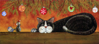 Unexpected Gifts of Kindness (1 card/1 envelope) LPG Cat Christmas Card