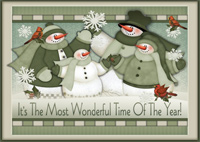 Most Wonderful Time Box of 16 Christmas Cards