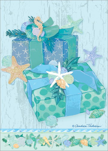 store categories - Tropical Christmas Cards