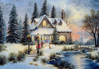 Winter Scenes Christmas Cards Shop At Papercards Com