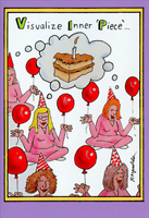 Inner Piece (1 card/1 envelope) - Birthday Card