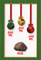 Jingle Bell Rock (1 card/1 envelope) Nobleworks Funny Christmas Card