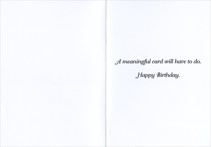A Meaningful Relationship Funny Humorous Birthday Card By Nobleworks