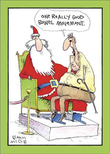 One good bm funny humorous christmas card by nobleworks m4hsunfo