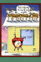 Long Night Box of 12 Christmas Cards