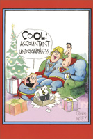 Accountant Super Christmas Box of 12 Christmas Cards