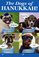 Dogs Of Hanukkah Hanukkah Card