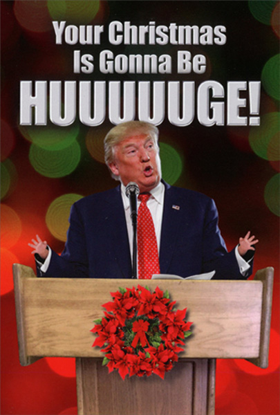 Christmas Trump Funny.Details About Trump Huge Box Of 12 Humorous Funny Nobleworks Christmas Cards