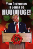 Trump Huge Box of 12 Christmas Cards