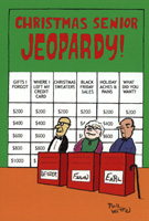 Christmas Senior Jeopardy Box of 12 Christmas Cards