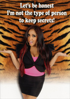 Snooki: Let's Be Honest (1 card/1 envelope) - Birthday Card - FRONT: Let's be honest I'm not the type of person to keep secrets!  INSIDE: So I told everyone your age!  Happy Birthday!