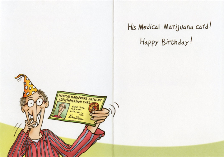 Cat at Doctor Funny Birthday Card Greeting Card by Oatmeal – Happy Birthday Card for Doctor