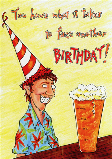 Papercards imagesoatmeal studios cd10013 face another beer birthday cardg m4hsunfo