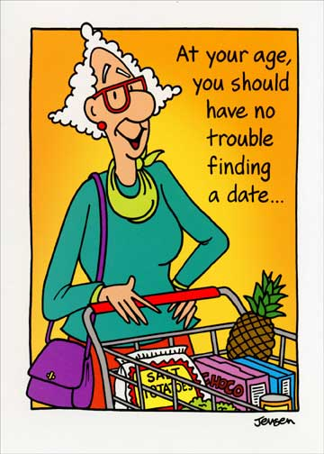 Grocery shopping woman funny birthday card greeting card by store categories bookmarktalkfo Images