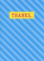 Thanks Loads (1 card/1 envelope) Oatmeal Studios Funny Thank You Card
