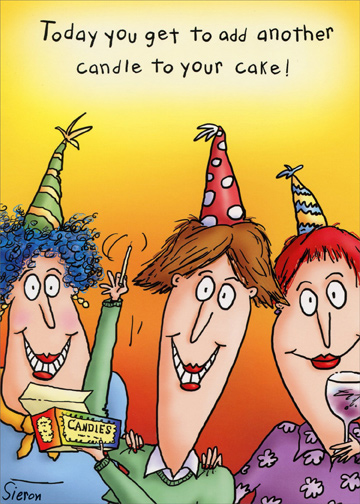 Add Another Candle Funny 80th Birthday Card For Her