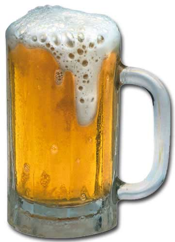 Mug Of Beer (1 card/1 envelope) - Blank Card