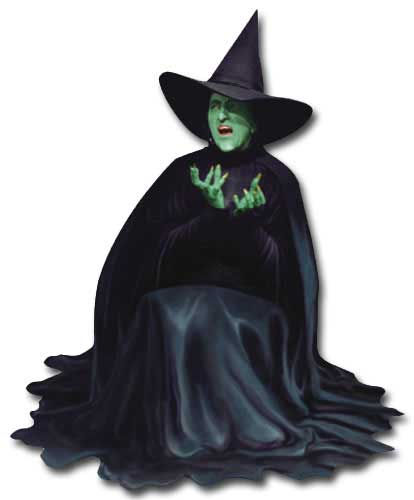 Wizard of Oz - Wicked Witch (1 card/1 envelope) - Blank Card