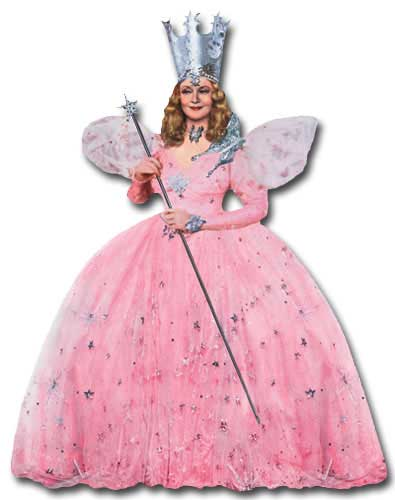 Wizard of Oz - Glinda (1 card/1 envelope) Paper House Productions Die Cut Blank Card