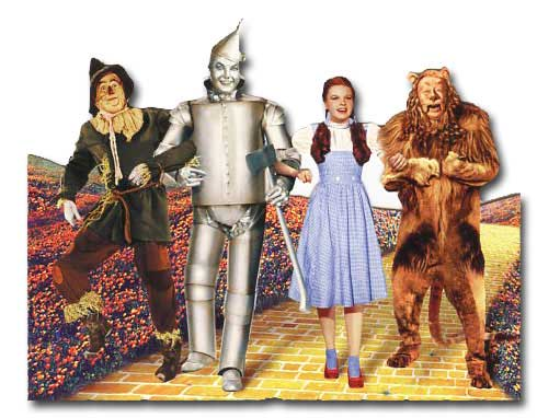 Wizard of Oz - Yellow Brick Road Blank (1 card/1 envelope) - Blank Card