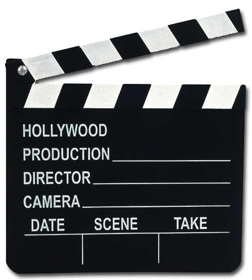 Clapboard (1 card/1 envelope) Paper House Productions Die Cut Blank Card