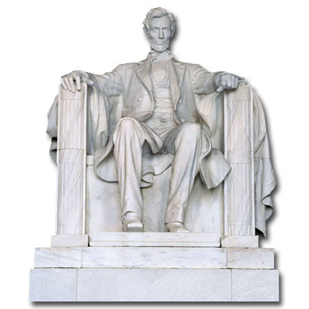 Lincoln Memorial (1 card/1 envelope) - Blank Card