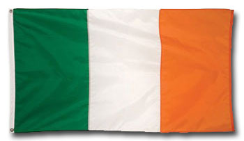 Irish Flag (1 card/1 envelope) Paper House Productions Die Cut Blank Card